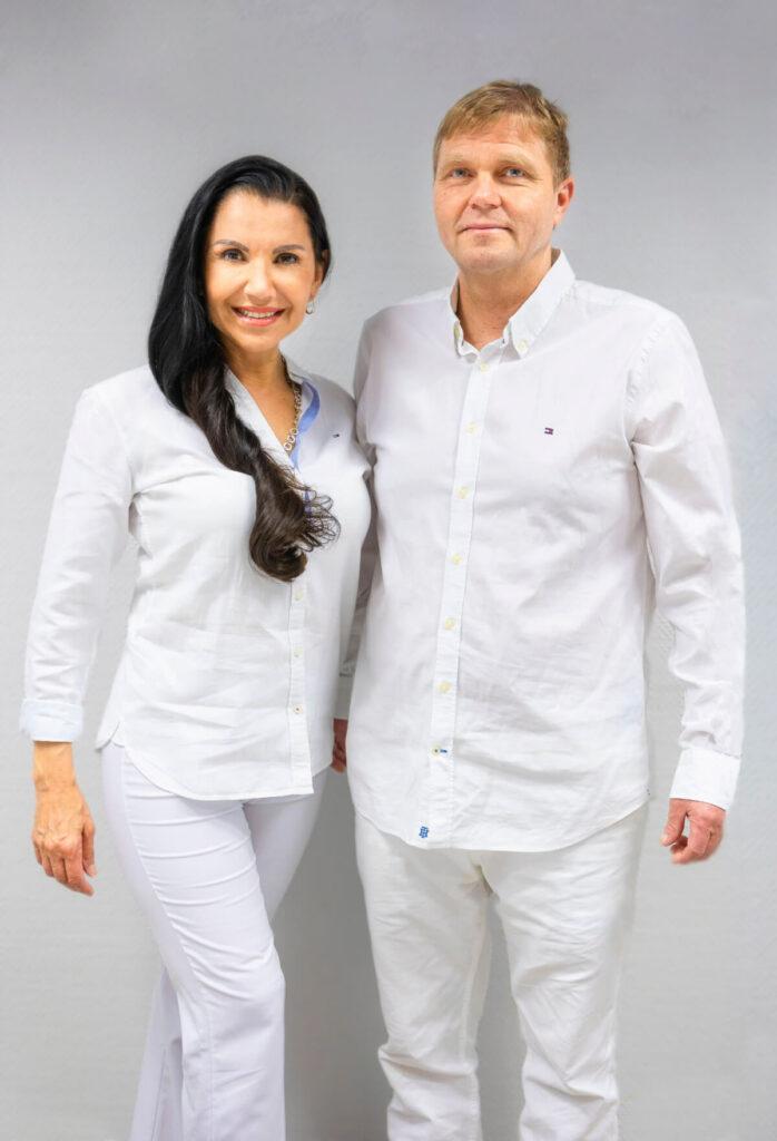 Prof. Dr. Hermann Harder und Dr. Ana Harder