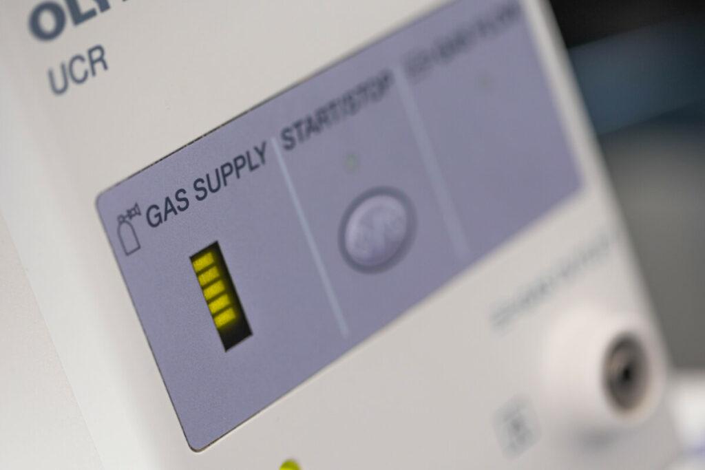 Olympus Gasregulierung